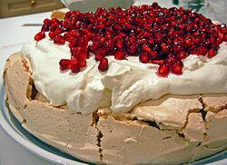 The Anna Pavlova Dessert